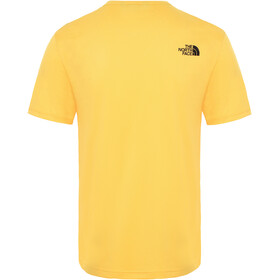 The North Face Tanken T-shirt Heren, tnf yellow